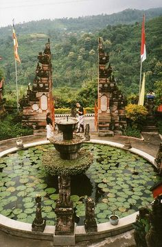 A Buddhist Temple in Bali, Indonesia