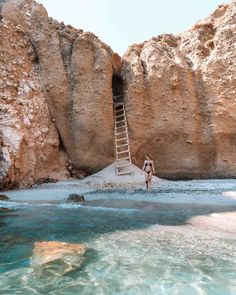 Tsigrado Beach, Milos Greece Travel Guide via Find Us Lost Travel The Complete Milos, Greece Travel Guide - Find Us Lost Places To Travel, Travel Destinations, Places To Visit, Time Travel, Travel Diys, Shopping Travel, Cheap Travel, Solo Travel, Best Places In Portugal