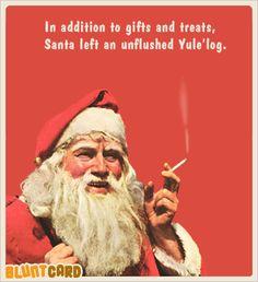 39 Super ideas for holiday humor ecards shirts Naughty Christmas, Christmas Jokes, Santa Christmas, Christmas Comics, Naughty Santa, Black Christmas, Retro Humor, Vintage Humor, Retro Funny