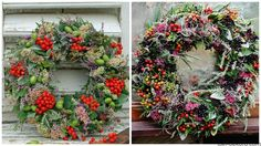 fotorcreated Mesh Wreaths, Floral Arrangements, Floral Design, Floral Wreath, Projects To Try, Spring, Crafts, Pallets, Advent