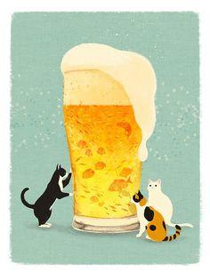 beer cats....LOVE!!!