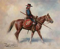 Dragon de cuera California 1790