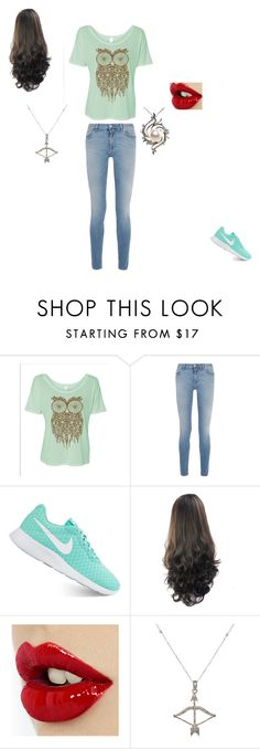 """""""Untitled #197"""" by ubavaprinceza ❤ liked on Polyvore featuring Givenchy, NIKE and Feathered Soul"""