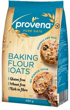 Provena Gluten Free Baking Flour with Oats 450 g Baking Flour, Oat Flour, Rice Flour, Cocoa Powder Recipes, Springform Pan, Gluten Free Baking, Corn Starch, Serving Plates, Baking Recipes