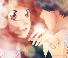 Ao Haru Ride / Blue Spring Ride - Mabuchi/Tanaka kou x Futaba Yoshioka Futaba Yoshioka, Futaba Y Kou, Fanarts Anime, Manga Anime, Anime Art, Manga Love, Anime Love, Ao Haru Ride Anime, Ashita No Nadja