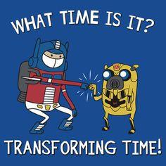 MashUp Transformers / Hora de Aventuras. De nuestras FrikiTapas XXVIII – Especial Transformers