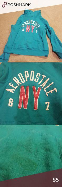 Aeropostale hoodie, matching pants being sold Small stain on pocket Aeropostale Tops Sweatshirts & Hoodies