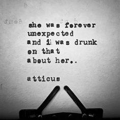 #atticuspoetry #atticus #poetry #poem #words #she #drunk #findyourwild #whiskey @laurenholub