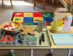 Gingerbread Man activity for the dramatic play center - An invitation for pretend play