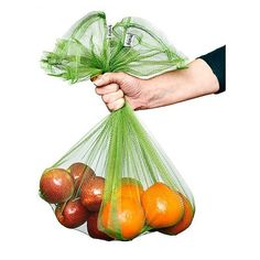 Fruity sacks  reusable bags for your fruit & veg  perfect for weekend markets