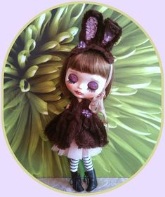 Blythe doll fur outfit