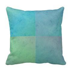 Shop Turquoise Green Watercolor Geometric Pattern Art Throw Pillow created by MHDesignStudio. Green Watercolor, Watercolor Background, Turquoise Throw Pillows, Custom Pillows, Pattern Art, Cool Designs, Layers, Fabric, Fun