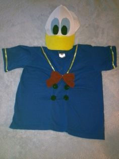 Fun and Easy Disney Halloween Costumes for Kids - Tips from the Disney Divas and Devos Easy Disney Costumes, Disney Characters Costumes, Character Costumes, Halloween Costumes For Kids, Halloween 2016, Halloween Stuff, Baby Halloween, Halloween Crafts, Donald Duck Costume