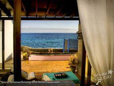 #Strandhaus mit Panoramaterrasse und #Meerblick in #Lanzarote