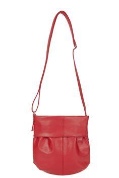 Frauentaschen :: MADEMOISELLE :: M5 | ZWEI Taschen Handtasche :: lederfrei :: crossbody :: rot