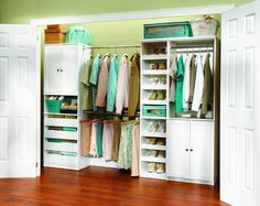 The key to good closet organization is great design.