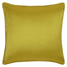 Buy Ivory John Lewis Silk Cushion from our Cushions range at John Lewis & Partners. Bed Throws, Throw Pillows, Green Lounge, Cushions Online, Bed Spreads, Cushion Covers, Green And Gold, John Lewis, Ivory