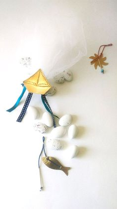 Baby nautical baptism favorGreek baptism by Handcraftedstories