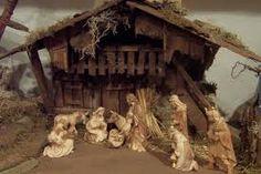 Krippe- - Buscar con Google Christmas Nativity, Christmas Holidays, Nativity Scenes, Seasons, Advent, Infant, Painting, Child, Beautiful