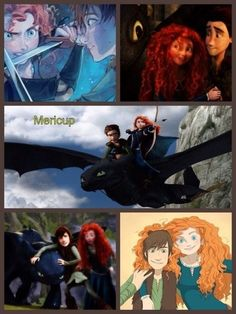 Mericcup. My favorite as long as either Hiccup is a Guardian and can't be with Astrid because of it or if Astrid was dead.