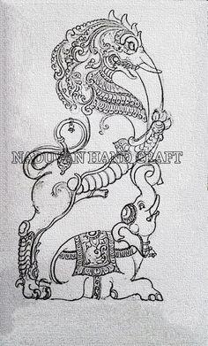 SVK WOOD NADUVAN HAND CRAFT contact 95 00 26 27 22 Mysore Painting, Kalamkari Painting, Kerala Mural Painting, Tanjore Painting, Ganesha Painting, Ganesha Art, Krishna Art, Indian Traditional Paintings, Indian Art Paintings