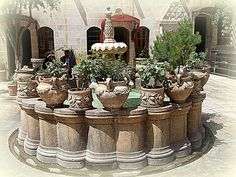 courtyard, urfa turkey