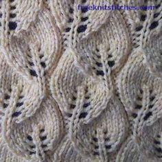 Posts knitting stitches