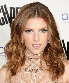 Anna Kendrick Hair Color Formula -  6GD (1oz) 7CR (1oz) Mix with: 20 vol creme developer [CONTINUED]