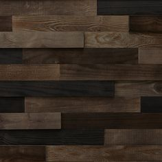 Timberwall - Landscape Collection Black Rock Desert - DIY Wood Wall Panel - Solid Wood Planks - Easy Peel and Stick Application - Sq Ft in Wall Stickers & Murals. Stick On Wood Wall, Peel And Stick Wood, Diy Wood Wall, Timber Walls, Wood Panel Walls, Wood Planks, Wood Paneling, Wood Stain Colors, Into The Woods