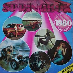 Springbok: Springbok Hit Parade Best Of / Top Hits Album Covers, Top, Crop Tee, Blouse