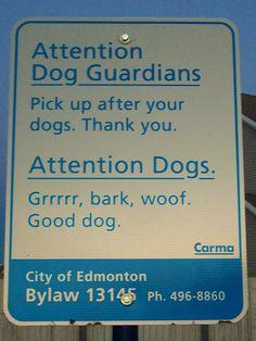 Attention Dogs!!!!    Like, Repin, Follow :)