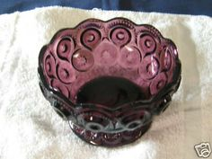 purple depression glass | Purple Glass Finger Bowl Completed