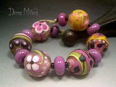 Art Glass beads in my etsy!  CLCIK ME!