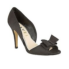 Ravel - Black 'Shiloh' stiletto heeled peep-toe shoes