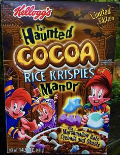 New Cereal, Snap Crackle Pop, Terry Labonte, Cereal Boxes, Breakfast Of Champions, Rice Krispies, Old And New, Marshmallow, Holiday Ideas