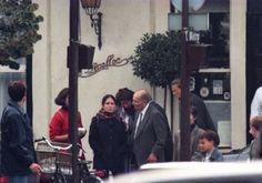 François Mitterrand and Mazarine Pingeot