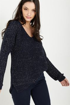 christmas sparkle pullover