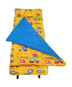 Take a look at this Wildkin Yellow Under Construction Nap Mat by Wildkin on #zulily today!