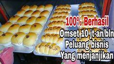 Resep Roti Manis + Tips dan Panduan memulai usaha dibidang Bakery. Bagel Bread, Yummy Cakes, Hot Dog Buns, I Foods, Crackers, Bread Recipes, Waffles, Bakery, Food And Drink