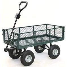 Gotobuy Wagon Cart 800 LB Capacity Utility Heavy Duty Yard Garden Home >>> Details can be found by clicking on the image.
