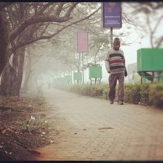 The onset of winter in the city brings with it an uncanny magic, creating a feeling akin to love's young rapture. As you take a stroll down the sidewalks observing the natural beauty of the city, your heart leaps in eternal joy and chest swells in pride with the sense of entitlement as you sing to yourself, 'What a Wonderful World'.  http://discoverbhubaneswar.com/tourism/speaking-frames/winter-morning-in-bhubaneswar/