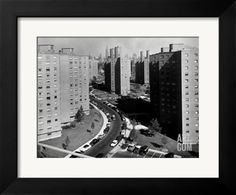 Peter Cooper Village And Stuyvesant Town Between 14th and 23rd Sts. on the East Side of the City Premium Photographic Print by Margaret Bourke-White at Art.com