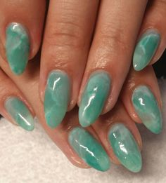 50 Gorgeous Jade Nail Designs You Will love Stylish Nails, Trendy Nails, Jade Nails, Nagellack Design, Funky Nails, Shiny Nails, Minimalist Nails, Best Acrylic Nails, Acrylic Gel
