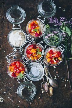 Italian Cheesecake Jars