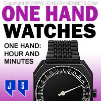 ►► ONE HAND WRIST WATCHES ►► Jewelry Secrets