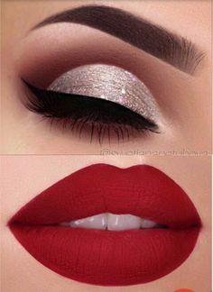 New wedding winter makeup brows Ideas partymakeuplooks 25 Pretty Christmas Makeup Ideas. Makeup Eye Looks, Beautiful Eye Makeup, Perfect Makeup, Pretty Makeup, Simple Makeup, Skin Makeup, Eyeshadow Makeup, Beauty Makeup, Blue Makeup