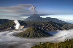 Mount Bromo is one of the best volcanoes tourist destinations in Indonesia.
