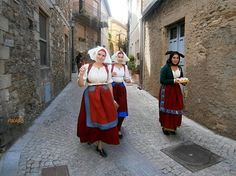 Sardinian woman wearing traditional costumes, locals are still very passionate over Sardinia unique heritage,  #Italy