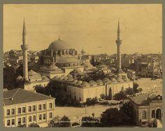 Beyazıt Camii Sébah & Joaillier 1888-1910 LOC arşivi