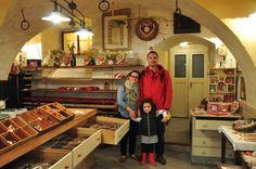Radovljica na Eslovênia - Gostilna Lectar, museu de pão de mel